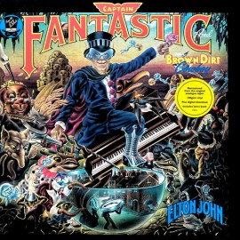 JOHN Elton : LP Captain Fantastic And The Brown Dirt Cowboy