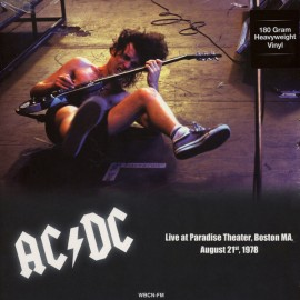 AC/DC : LP Paradise Theater Boston MA, August 21st 1978