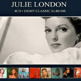 JULIE LONDON : CDx4 Eight Classic Albums
