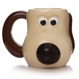 WALLACE & GROOMIT MUG : Shaped Ceramic