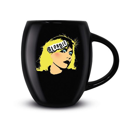 BLONDIE MUG : Blondie Punk Oval Mug