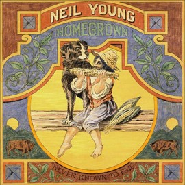 NEIL YOUNG : LP Homegrown (with print)