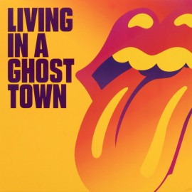"ROLLING STONES (the) : 10""EP Living In A Ghost Town"