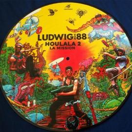 LUDWIG VON 88 : LP Picture Houlala 2 La Mission