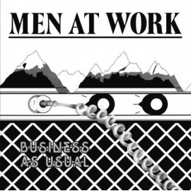MEN AT WORK : LP Business As Usual