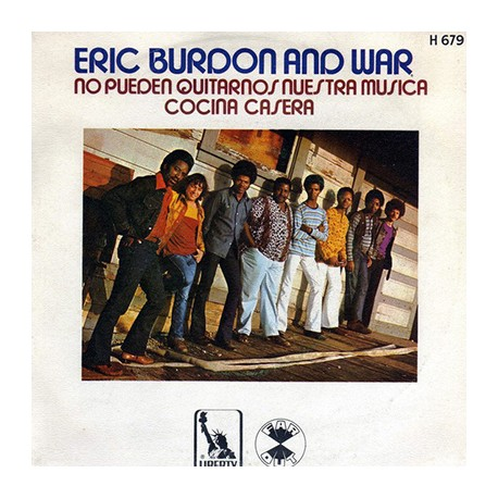 BURDON Eric : No Pueden Quitarnos Nuestra Musica