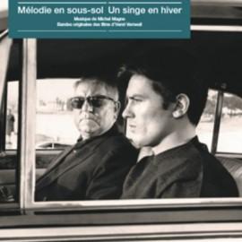 MAGNE Michel : LP Mélodie En Sous-sol / Un Singe En Hiver
