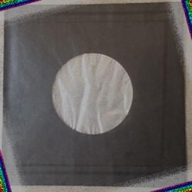 SOUS-POCHETTE EP/45t PAPIER NOIR DELUXE AVEC TROU x 20