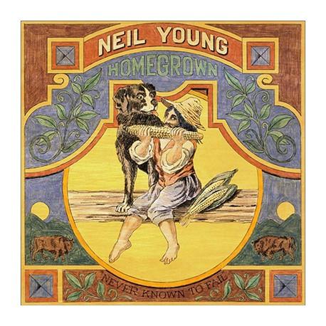 NEIL YOUNG : LP Homegrown