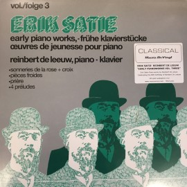 SATIE Erik : LP Early Piano Works Vol./Folge 3