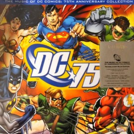 VARIOUS : LPx2 The Music Of DC Comics : 75th Anniversary Collection