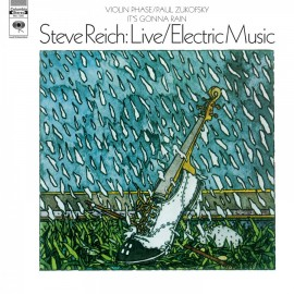REICH Steve : LP Live / Electric Music