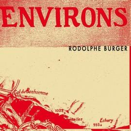BURGER Rodolphe : LPx2+CD Environs