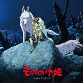HISAISHI Joe : LPx2 Princess Mononoke : Soundtrack