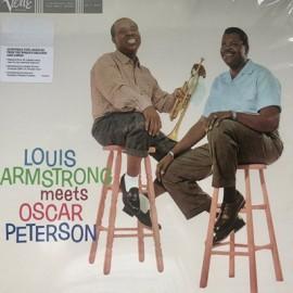 PETERSON Oscar / ARMSTRONG Louis : LP Louis Armstrong Meets Oscar