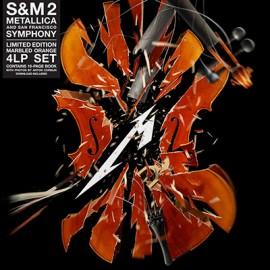 METALLICA : LPx4 S&M 2