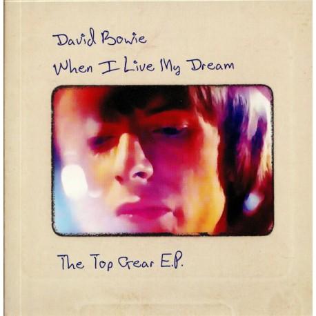 BOWIE David : When I Live My Dream (The Top Gear E.P.) - (yellow)