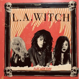 L.A. WITCH : LP Play With Fire (yellow)