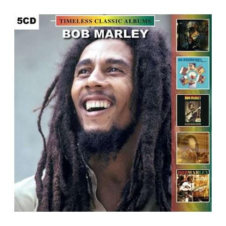 MARLEY Bob : CDx5 Timeless Classic Albums