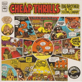 JANIS JOPLIN : LP Cheap Thrills