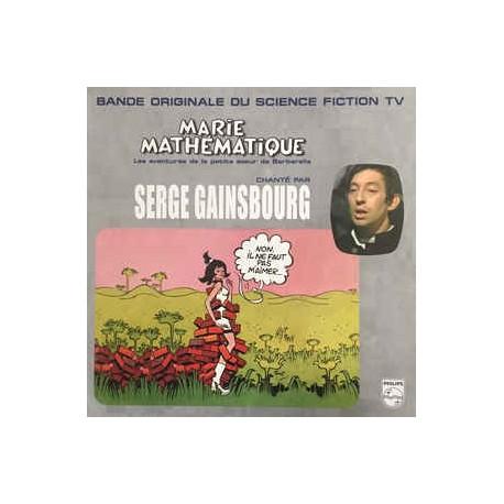 GAINSBOURG Serge : LP Marie Mathématique, Les Aventures De La Petite Soeur De Barbarella
