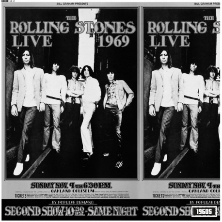 ROLLING STONES (the) : LP Live At The Oakland Coliseum 1969
