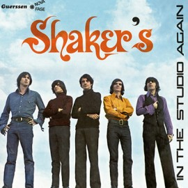LOS SHAKERS : LP In The Studio Again