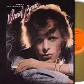 BOWIE David : LP Young Americans (coloré)
