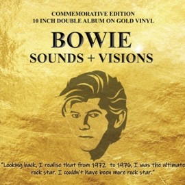 "BOWIE David : 10""LP Sounds & Visions (The Legendary Broadcasts)"