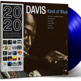MILES DAVIS : LP Kind Of Blue (blue)