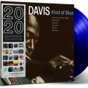 MILES DAVIS : LP Kind Of Blue (blue)