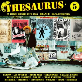 VARIOUS : LPx2 Thesaurus Volume 5 Rock/Punk/Cold