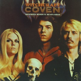 COVEN : LP Witchcraft Destroys Minds & Reaps Souls