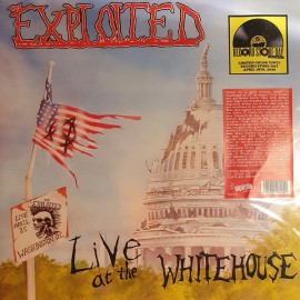 EXPLOITED (the) : LP Live At The Whitehouse