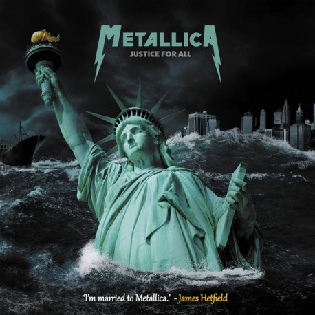 """METALLICA : 10""""LPx2 Justice For All"""