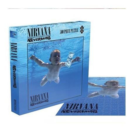 NIRVANA : Puzzle Nevermind Album Cover