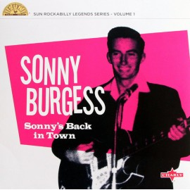 "BURGESS Sonny : 10""LP Sonny's Back In Town"