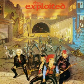 EXPLOITED (the) : LP Troops Of Tomorrow