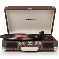 TURNTABLE : CROSLEY - Cruiser Deluxe Turntable Tweed
