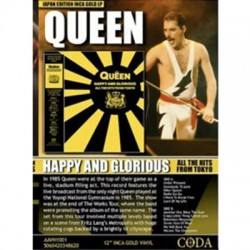 QUEEN : CD Happy And Glorious - All The Hits From Tokyo