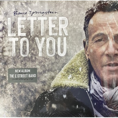 SPRINGSTEEN Bruce : LPx2 Letter To You (colored)
