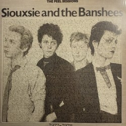 SIOUXSIE AND THE BANSHEES : LP The Peel Sessions 1977-1978