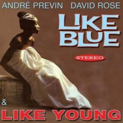 PREVIN Andre / ROSE David : CD Like Blue