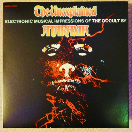 GARSON Mort (ATARAXIA) : LP The Unexplained (Electronic Musical Impressions Of The Occult By) - colored