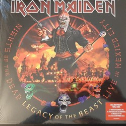 IRON MAIDEN : LPx3 Nights Of The Dead, Legacy Of The Beast : Live In Mexico City