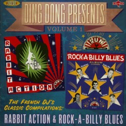 VARIOUS : CDx2 Rabbit Action & Rock-A-Billy Blues