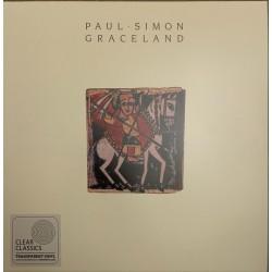 SIMON Paul : LP Graceland (clear)