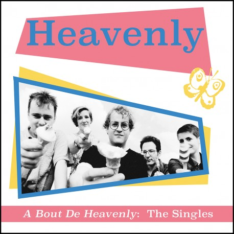 HEAVENLY : LP A Bout De Heavenly : The Singles