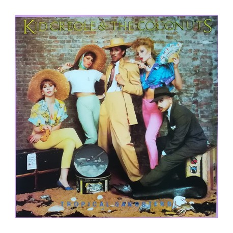 KID CREOLE & THE COCONUTS : LP Tropical Gangsters