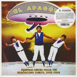 VARIOUS : LP El Apagón - Peruvian Chicha From The Horóscopo Vaults, 1978-1988